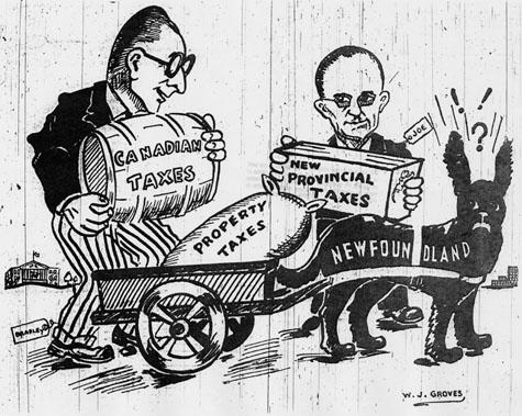 Confederation cartoon