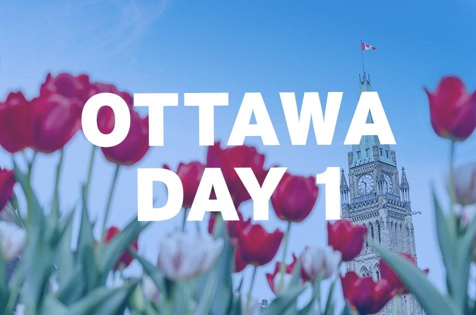 Virtual Tour Blog - Ottawa Day 1