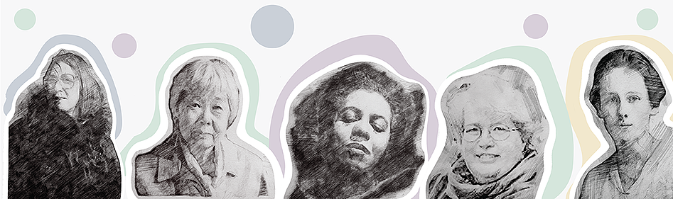 Graphic Illustration Celebrating Women In Canadian History