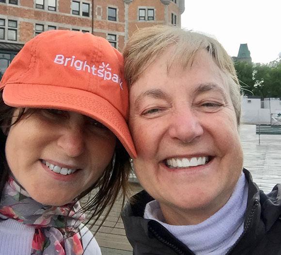brightspark founder Linda Philp
